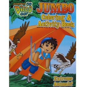 Diego Jumbo Coloring And Activity Book